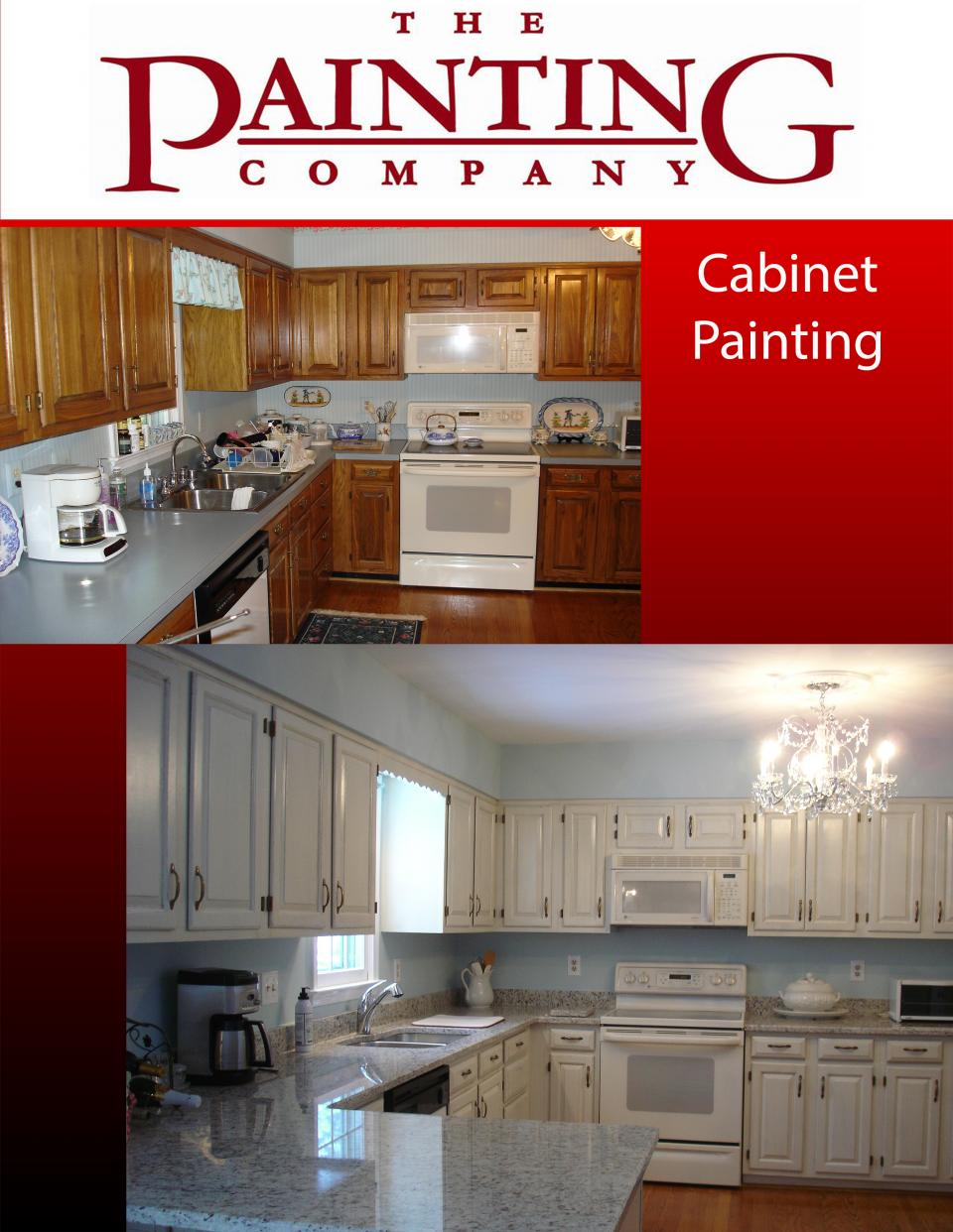 Cabinet Painting   The Painting Company